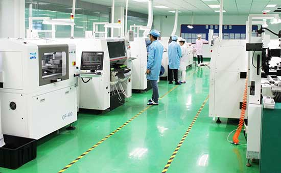 PCBA电子产品加工生产线